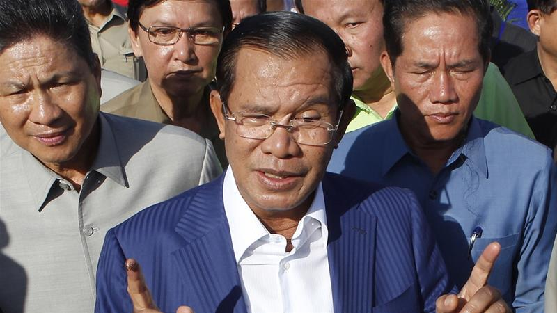 Prime Minister Hun Sen has been in power for 33 years [File: Heng Sinith/AP Photo]