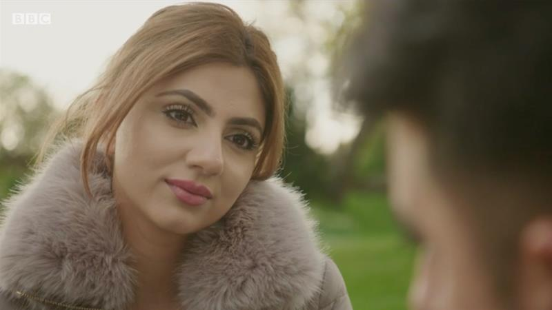 "BBC Two's ""Lost Boys? What's Going Wrong for Asian Men?"" is presented by Mehreen Baig [BBC/Screengrab]"