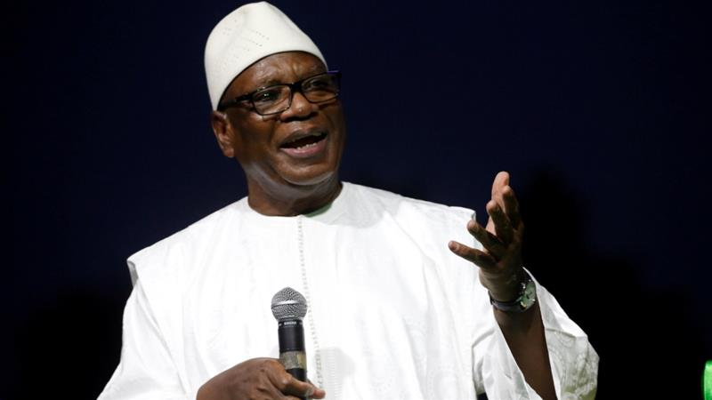 Ibrahim Boubacar Keita won re-election in Mali's presidential election [File: Luc Gnago/Reuters]