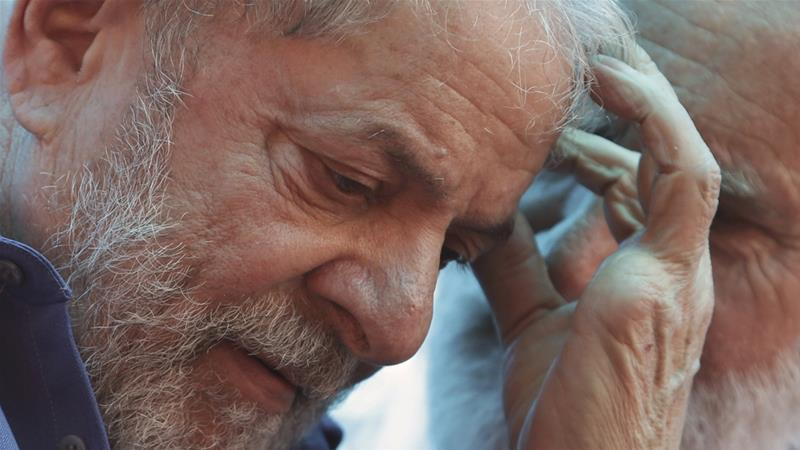Lula is leading the polls by a wide margin [File: Eraldo Peres/The Associated Press]