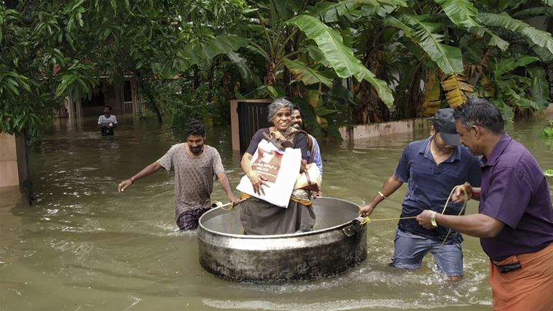 India's Kerala state hit by worst flood in a century