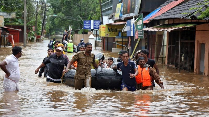 Floods in India worst in 100 years
