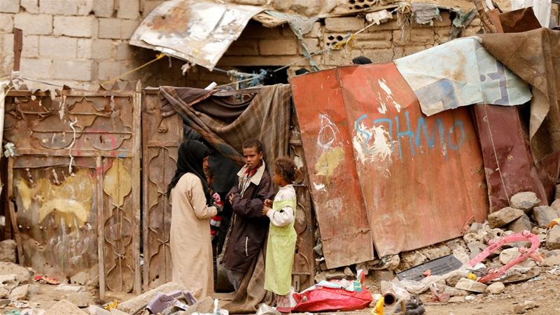 Griffiths cautioned that the situation for millions of Yemeni civilians could worsen if a solution to the conflict is not reached [Khaled Abdullah/Reuters]