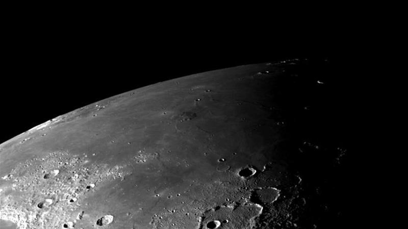 Researchers were able to determine ice is present in moon craters devoid of sunlight [File: NASA]