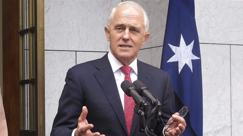 Australian Prime Minister Malcolm Turnbull survived a no-confidence on Tuesday with a 13-vote majority [Rod McGuirk/The Associated Press]
