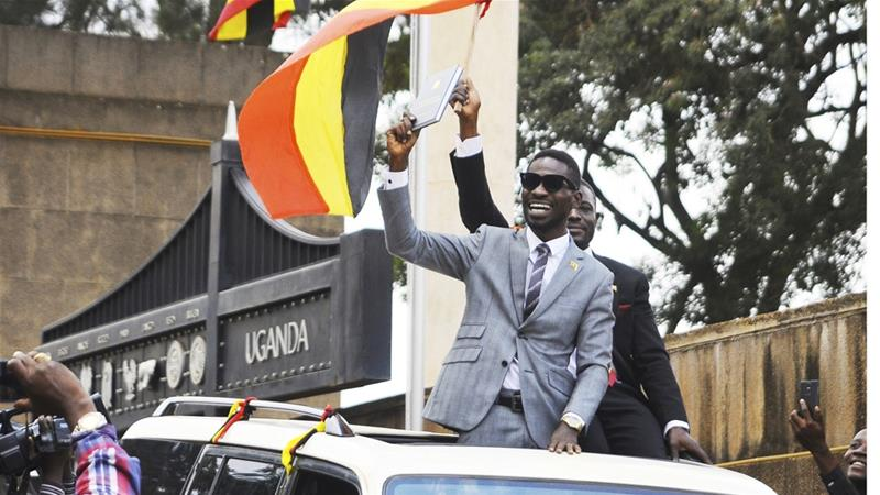 Bobi Wine charged with treason, remanded