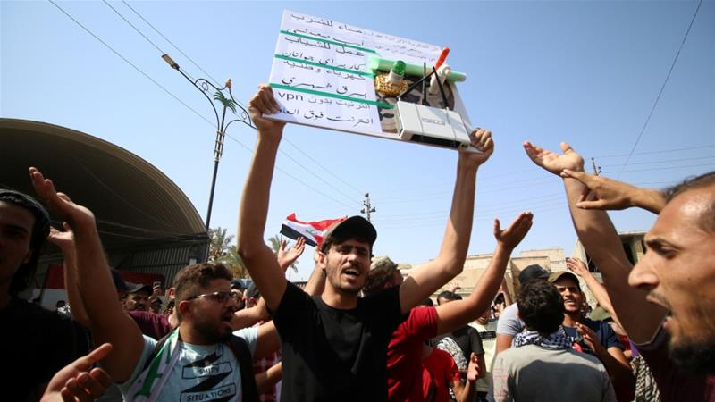 What should Iraq's government do to address public anger ...