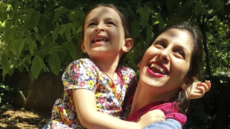 Jailed aid worker temporarily freed in Iran