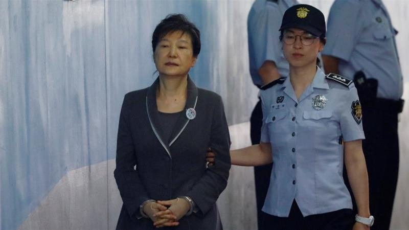Park's former defence team quit en masse last year in protest against a Seoul court's handling of her case [Kim Hong-Ji/Reuters]