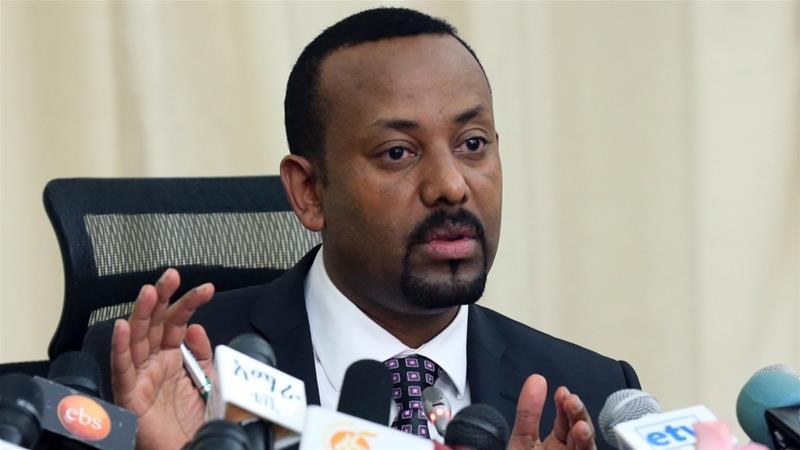 Saturday's news conference was the first Abiy held since taking office in April [Reuters]