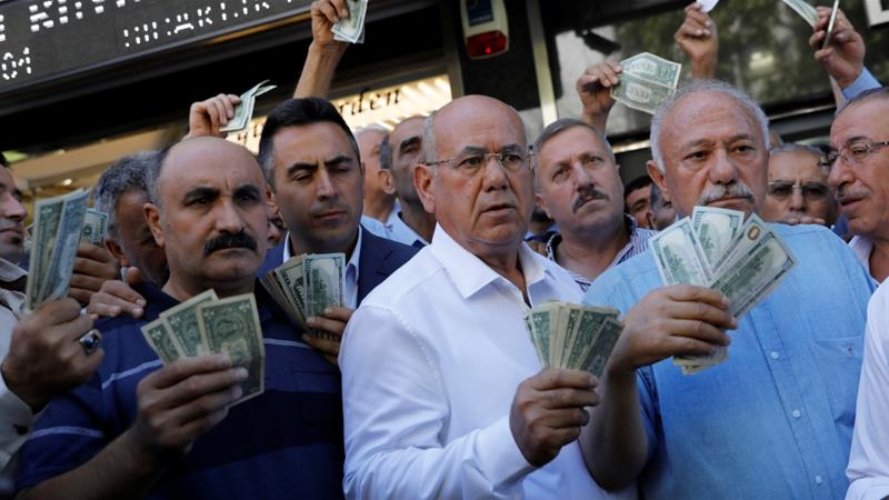 Turkey's lira turmoil could herald a global financial crisis