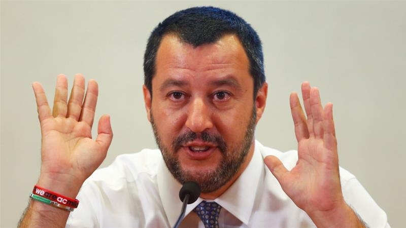 Refugees allowed to leave ship as prosecutor investigates Salvini