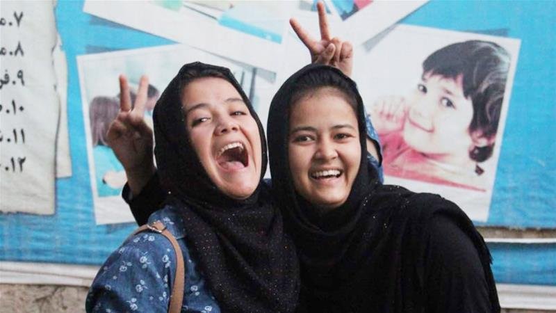 Rahila, left, was an ambitious 17-year-old student and had planned to study economics at university [Image provided by the family]