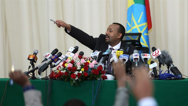 PM Abiy Ahmed says the women ministers will disprove the claim that women can't lead [File: Anadolu]