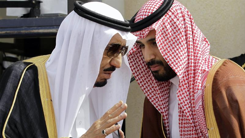 Saudi Arabia's King Salman appointed his son, Mohammed bin Salman, as heir in June 2017 [File: Hassan Ammar/AP File]