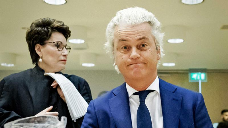 Geert Wilders cancels Prophet Muhammad cartoon competition
