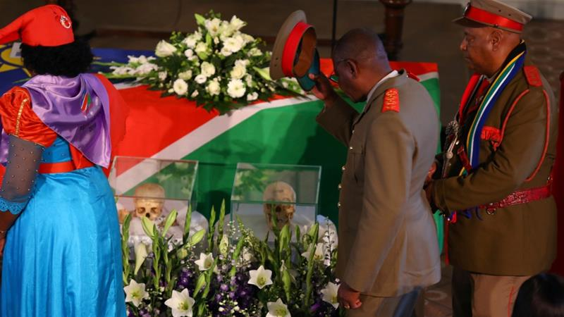 Germany returns Namibia genocide skulls