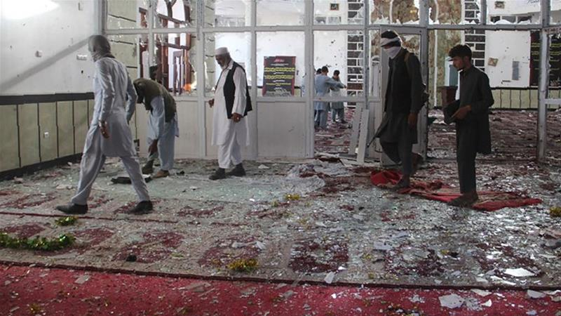 Image result for afghanistan mosque bomb blast