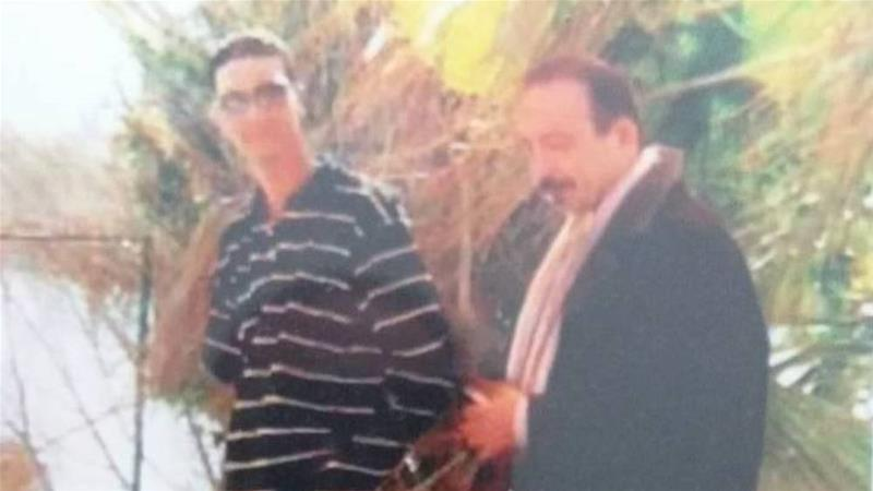 Wissam (left) and Salam (right) Al Hashimi in Baghdad, in 2004, a year before Wissam's disappearance [Courtesy of Ines Osman]