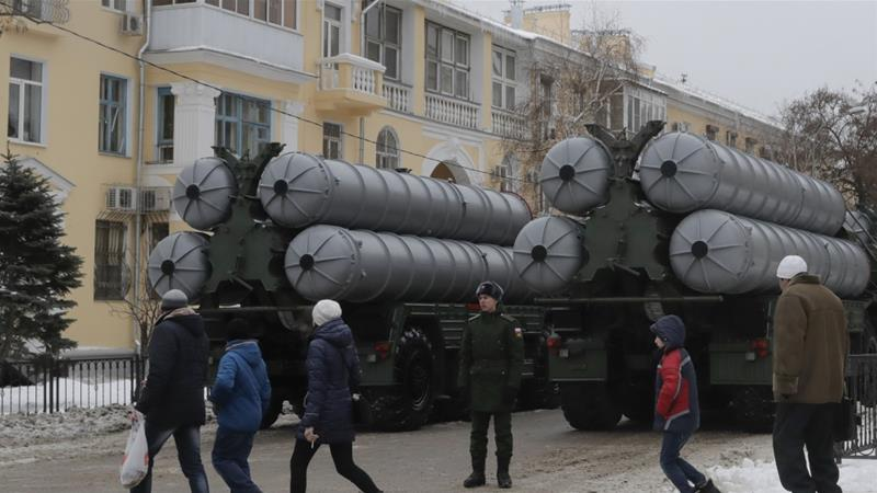 Turkey, China, Qatar, Saudi Arabia and India have all bought or are planning to buy the S-400 system [Tatyana Maleyeva/Reuters]