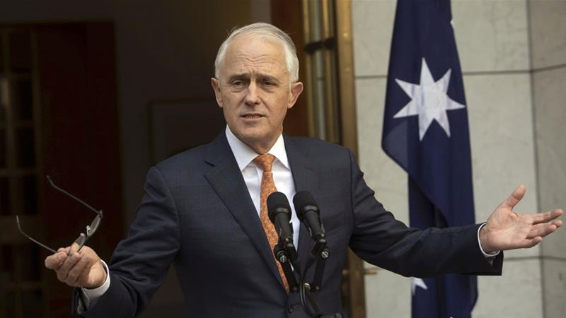 Turnbull's resignation comes after he was removed from office in a bitter conservative rebellion [Andrew Taylor/AP]