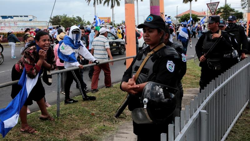 Nicaragua has been in turmoil since anti-government protests erupted on April 18 [Oswaldo Rivas/Reuters]