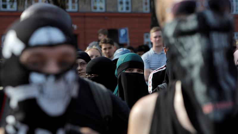 First person charged with breaching new burka law in Denmark