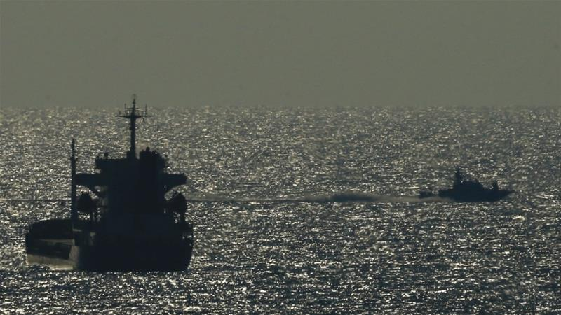 Israel prohibits ships from travelling more than six nautical miles from Gaza's coastline [Ariel Schalit/AP]