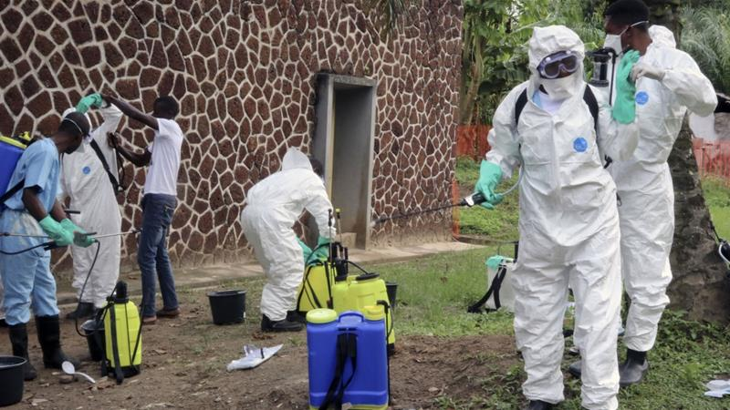 The new outbreak comes after DRC officials declared another Ebola crisis over last month [File: John Bompengo/AP]