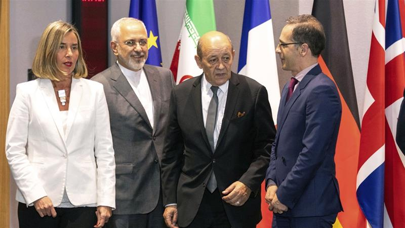 Europe's foreign ministers say preserving the nuclear deal is a matter of respecting international agreements [File: AP]