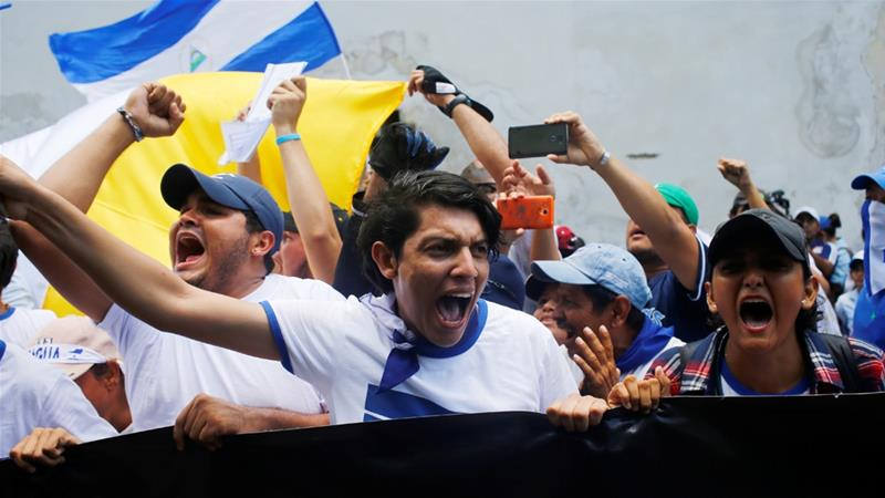 government of nicaragua website