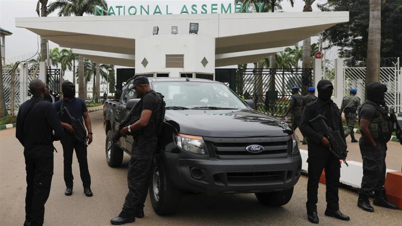 Nigerian spy chief fired over parliament'takeover
