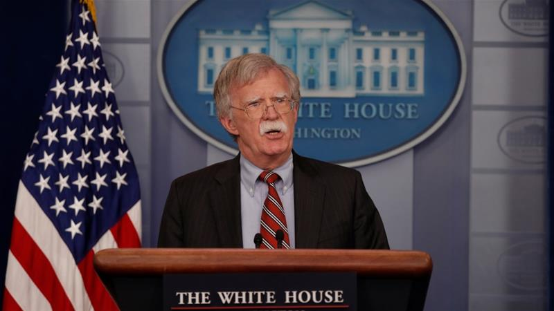 Bolton: North Korea not taking steps to denuclearise