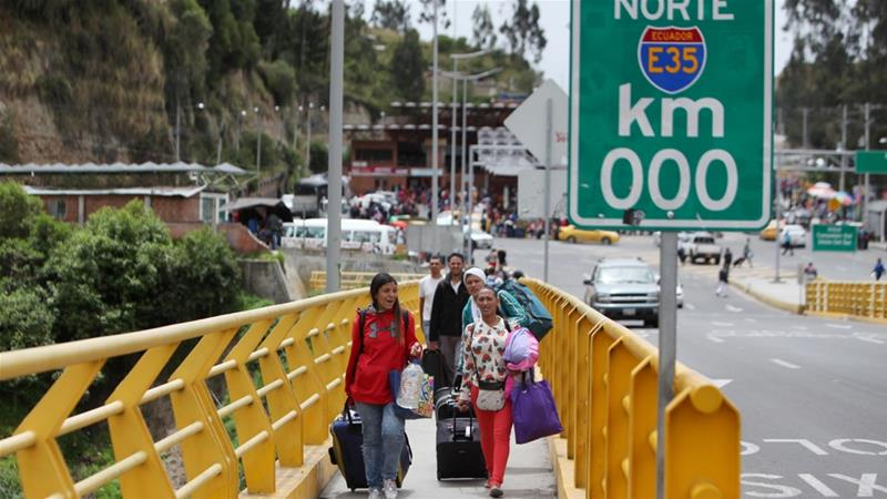 Ecuador declares state of emergency over Venezuela migrant influx
