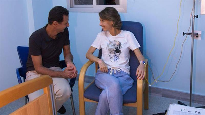 Asma al-Assad diagnosed with breast cancer, Damascus says