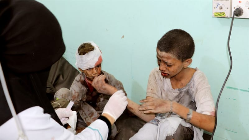 Saudi raid on Yemen kills many children