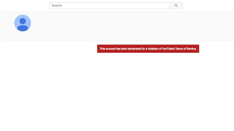 YouTube shuts down pro-Syrian government channels