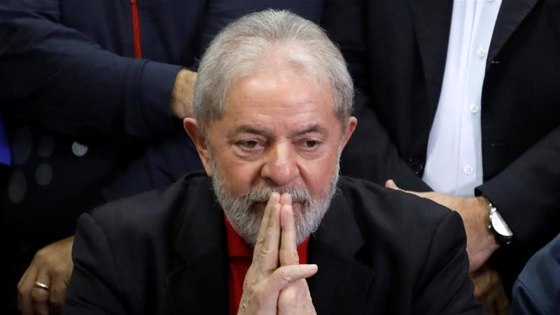 Lula served as Brazil's president for two terms from 2003 to 2010 [File: Nacho Doce/Reuters]