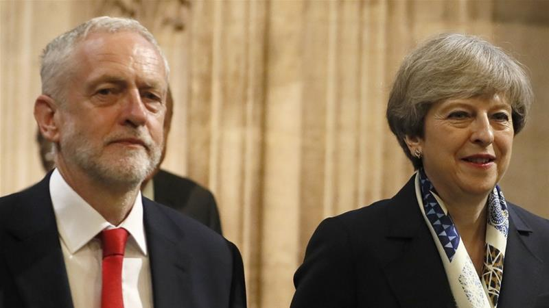 Both the Conservative government led by Theresa May and Jeremy Corbyn's Labour Party have accepted IHRA's definition of anti-Semitism in full [AP]