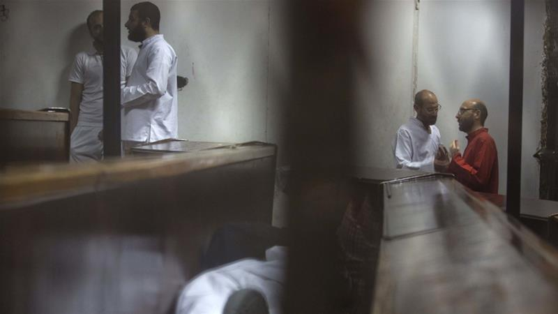 The crackdown on dissent in Egypt since 2013 has seen the authorities prosecuting hundreds of people [AP]
