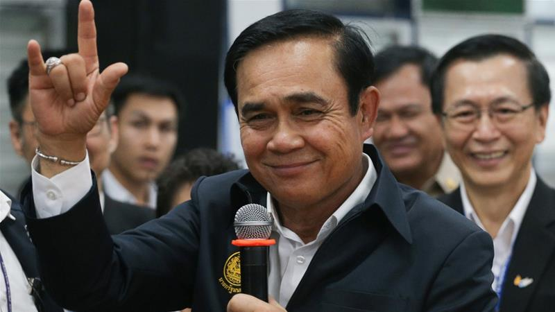 Prime Minister Prayuth Chan-ocha heads the military government that seized power in a 2014 coup [File: Reuters]