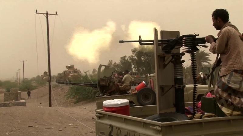 Coalition forces resumed an offensive for Hodeidah after UN-sponsored talks failed to materialize [File: AFP]