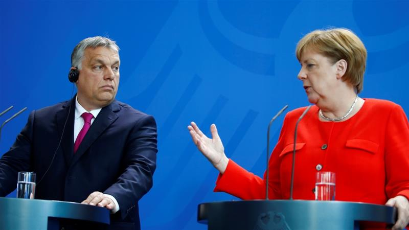 European Union  lawmakers vote to take measures against Hungary