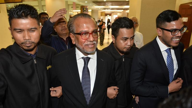 Shafee admitted he received the money but said he had no knowledge of its source [AP]