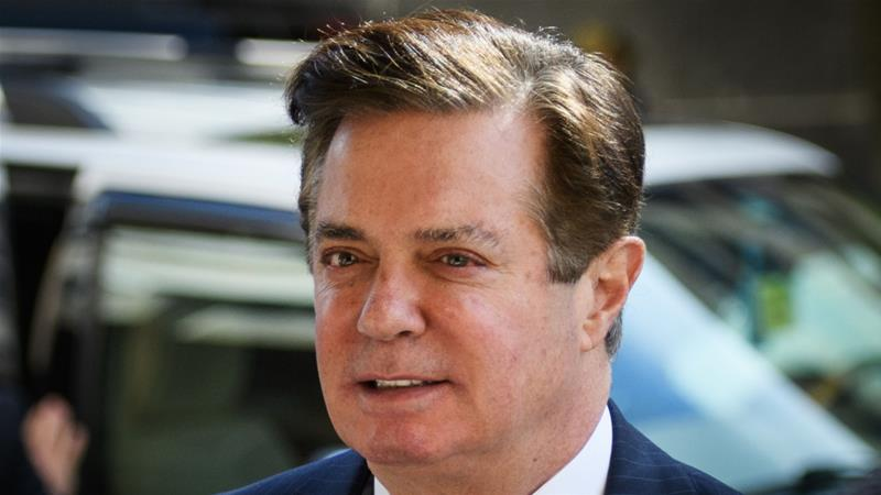 On Friday, Mueller detailed multiple 'lies' that former Trump campaign chief Paul Manafort told investigators, leading to a termination of his cooperation deal [File: Mandel Ngan/AFP]