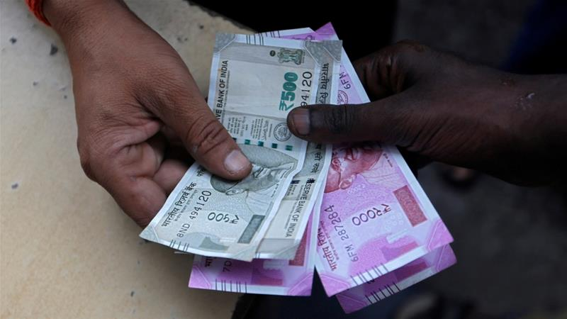 The Indian Ru Hit A Record Low Of 72 91 Against Us Dollar On Wednesday