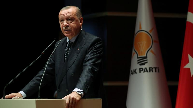 Erdogan says Turkey came under 'economic attack'
