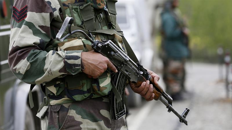 In past two years, Kashmir saw a spike in gun battles between security forces and the rebels (Mukhtar Khan/AP)