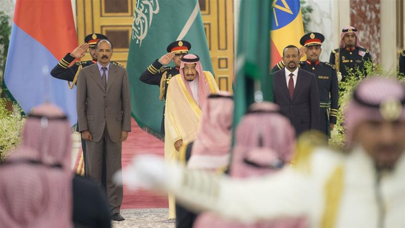Ethiopia, Eritrea sign peace deal at Saudi Arabia summit