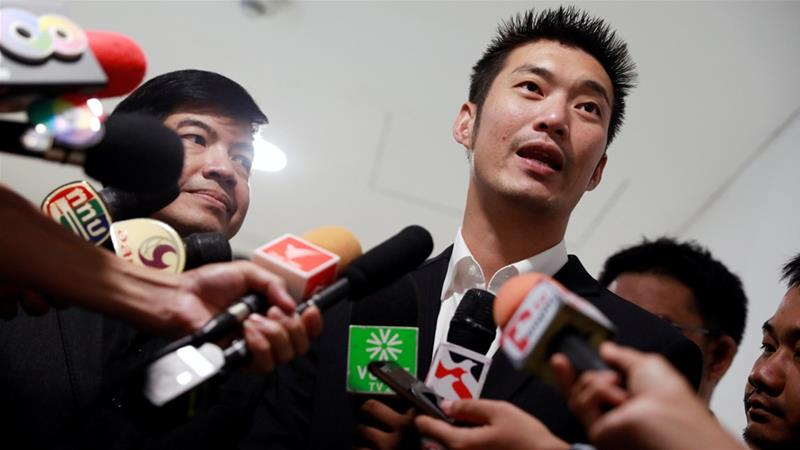 Thanathorn Juangroongruangkit, 39, us an car parts billionaire and newcomer to the political scene [File: Reuters]